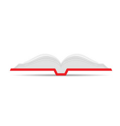 book open icon vector image