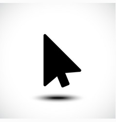 computer mouse click pointer cursor arrow vector image