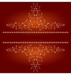 Decoration elements or monograms for design vector image