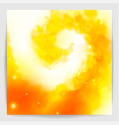 magic spiral light fire flame vortex vector image