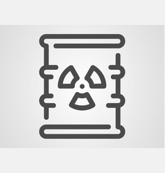 waste icon sign symbol vector image