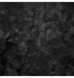 black and white triangular abstract background vector image vector image