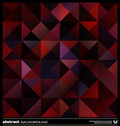 Purple triangles background vector image vector image