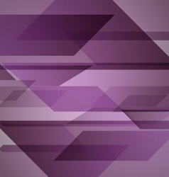 Abstract purple background with geometric shapes vector image