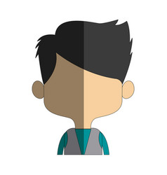 Character man male portrait happy people vector