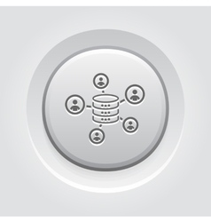 Collecting Data Icon vector