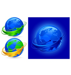 globalization vector image