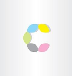 Letter icon c logotype c symbol design vector