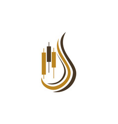 tobacco fund club stock commodity vector image