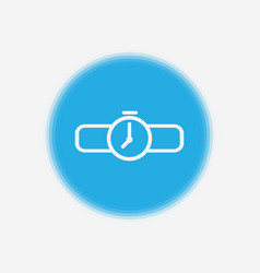 watch icon sign symbol vector image