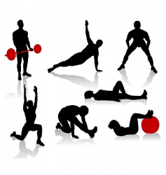 exercise1 vector image vector image