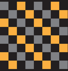 abstract chess squares geometric pattern vector image vector image