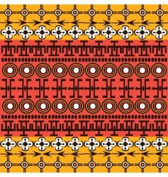 african symbols vector image vector image