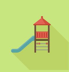 slide play equipment vector image