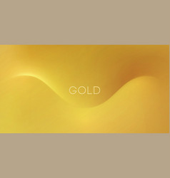 abstract golden background for design vector image