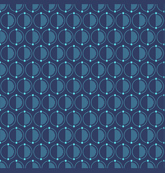 abstract simple pattern with circles vector image