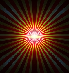 Background with radial rays vector image