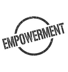 Empowerment stamp vector