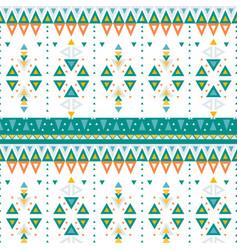 Ethnic geometric print vector
