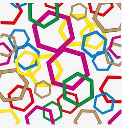 Figures polygonal figure vector