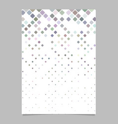 geometrical pattern brochure template - tiled vector image