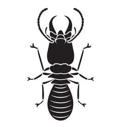 graphic termite vector image