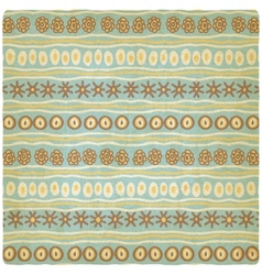 hand drawing ethnic pattern old background vector image
