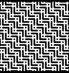 herringbone monochrome seamless pattern in flat vector image