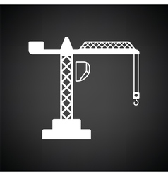 Icon of crane vector image