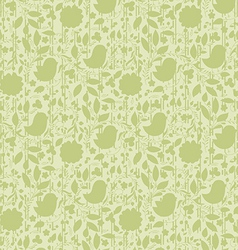 neutral floral background swirl and curve vector image