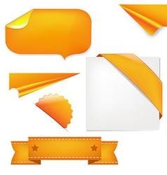 Orange Set vector