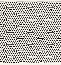 seamless abstract shapes pattern modern stylish vector image