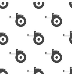 tape measure seamless pattern vector image