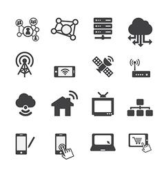 Technology icon vector