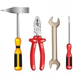 tool for repair vector image