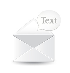 Envelope Text vector image