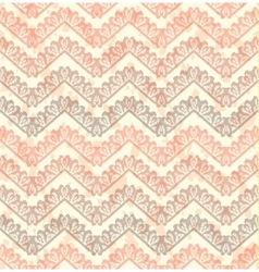 Lace seamless pattern on grunge background vector image