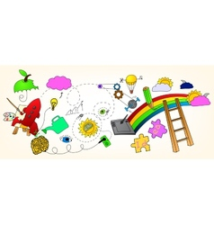 Imagination vector