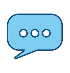 Text bubble box vector