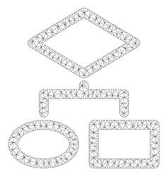 Algorithm polygonal frame mesh vector