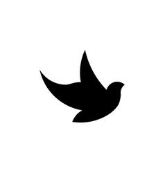 bird logo icon design template vector image