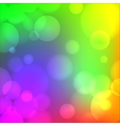 Colorful soft blurry background vector