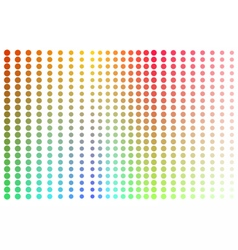 Dotspots vector image