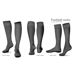 Football socks vector image