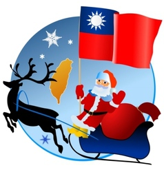 Merry Christmas Taiwan vector