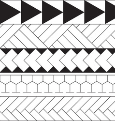 Pattern - Tribal vector