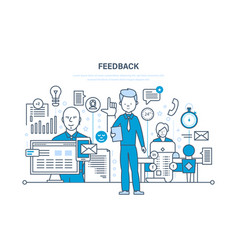 technology communications technical support vector image