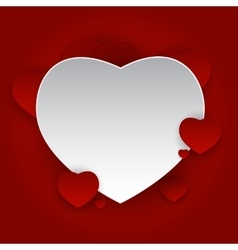 Valentine s Day Heart Symbol Love and Feelings vector