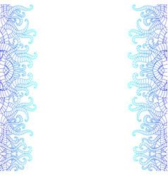 vertical decorative doodle seamlesspattern vector image