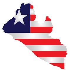Liberia Flag vector image vector image